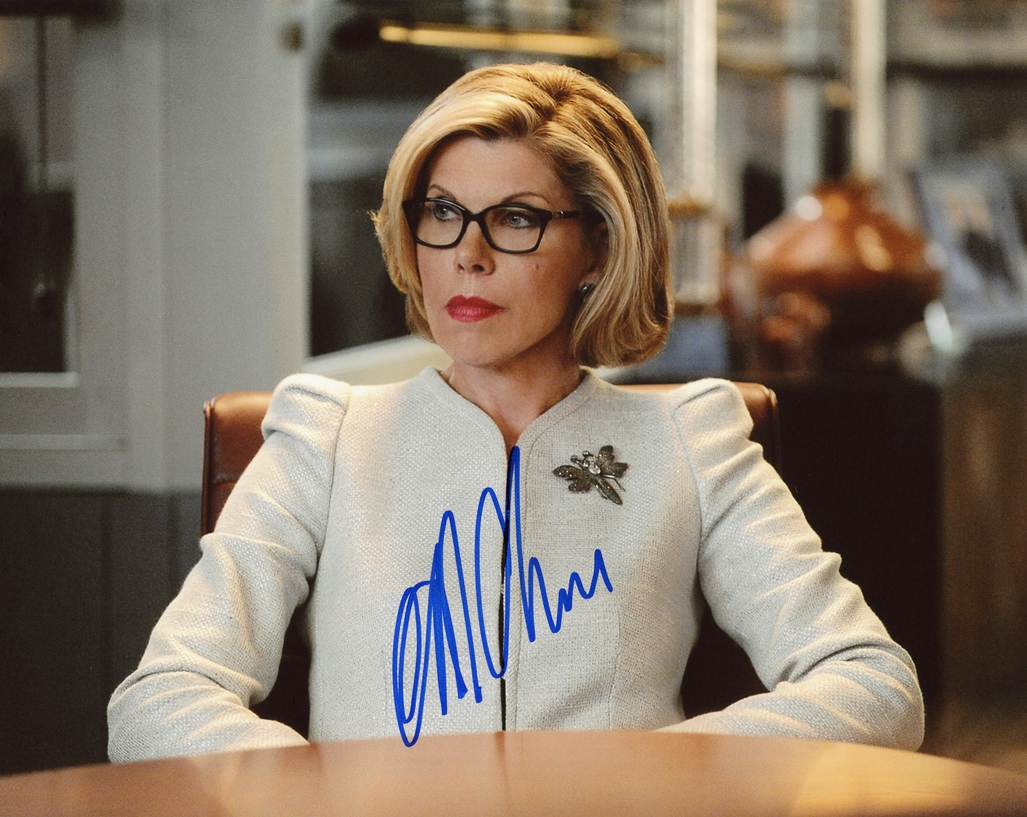 Christine Baranski Signed Photo