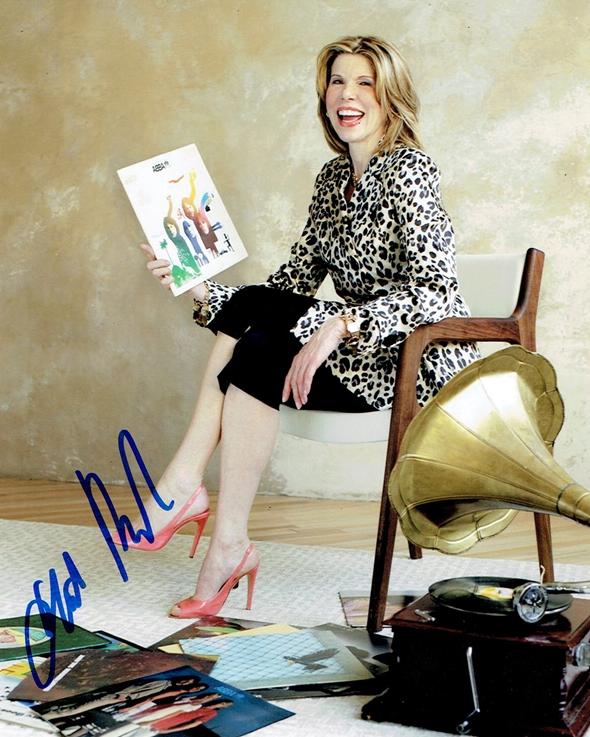 Christine Baranski Signed Photo