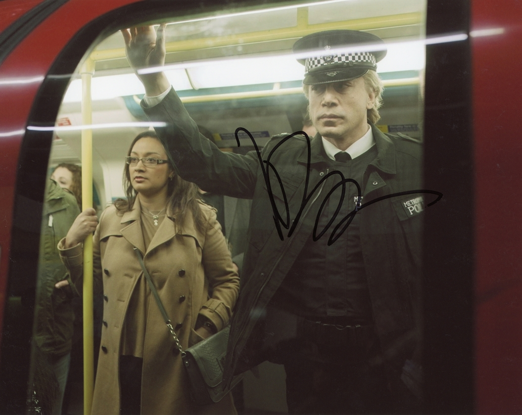 Javier Bardem Signed Photo