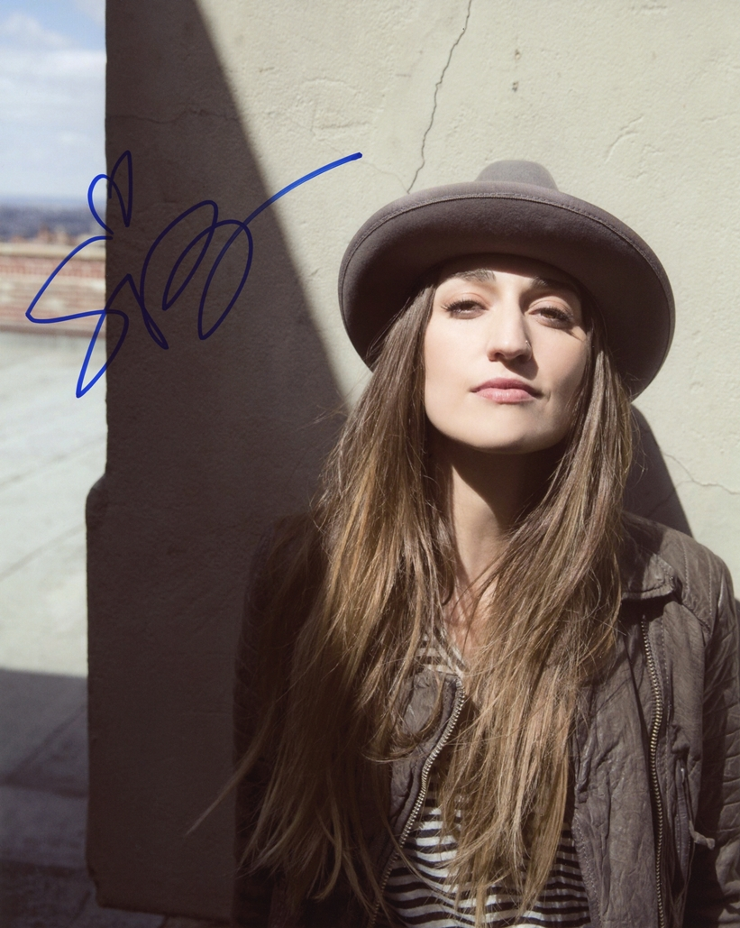 Sara Bareilles Signed Photo
