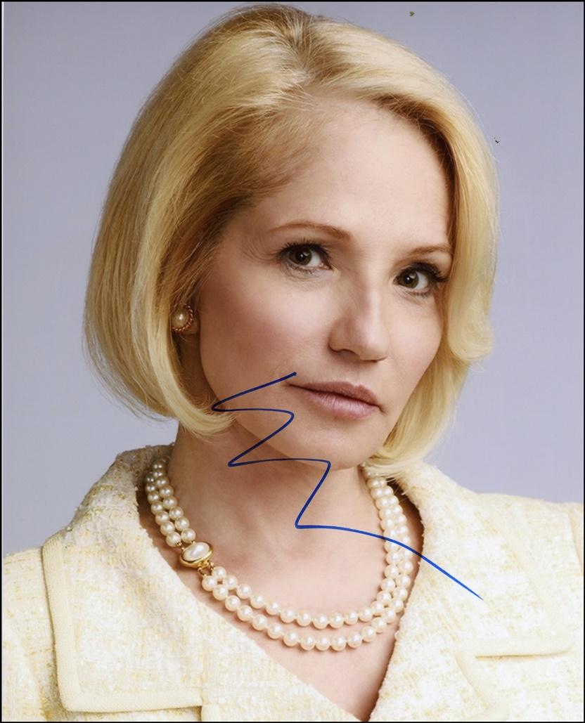 Ellen Barkin Signed Photo