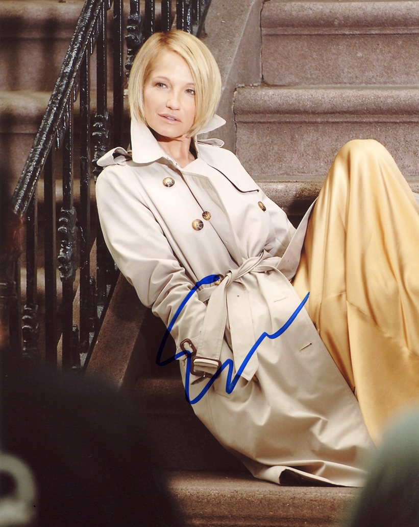 Ellen Barkin Signed Photo
