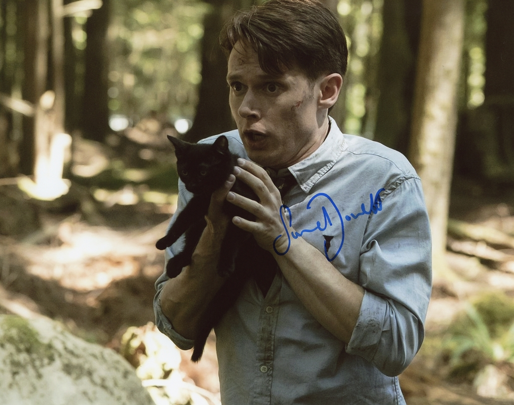 Samuel Barnett Signed Photo