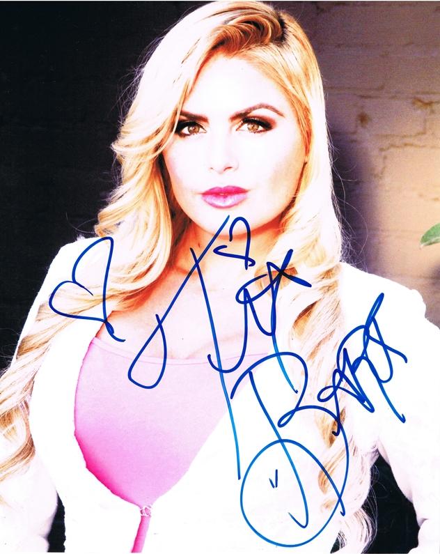 Tia Barr Signed Photo