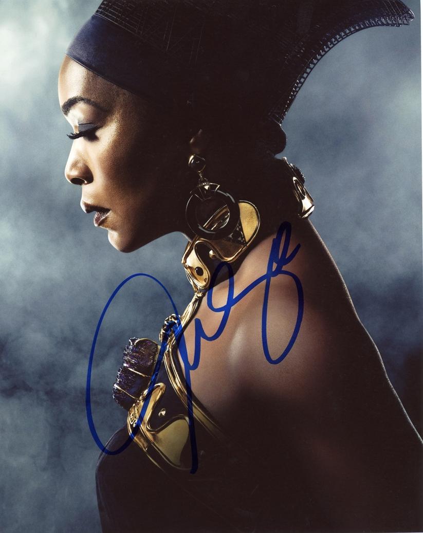 Angela Bassett Signed Photo