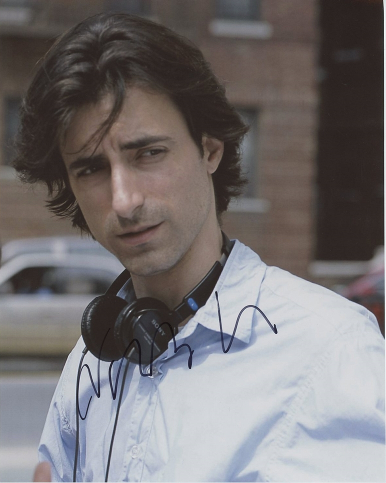 Noah Baumbach Signed Photo