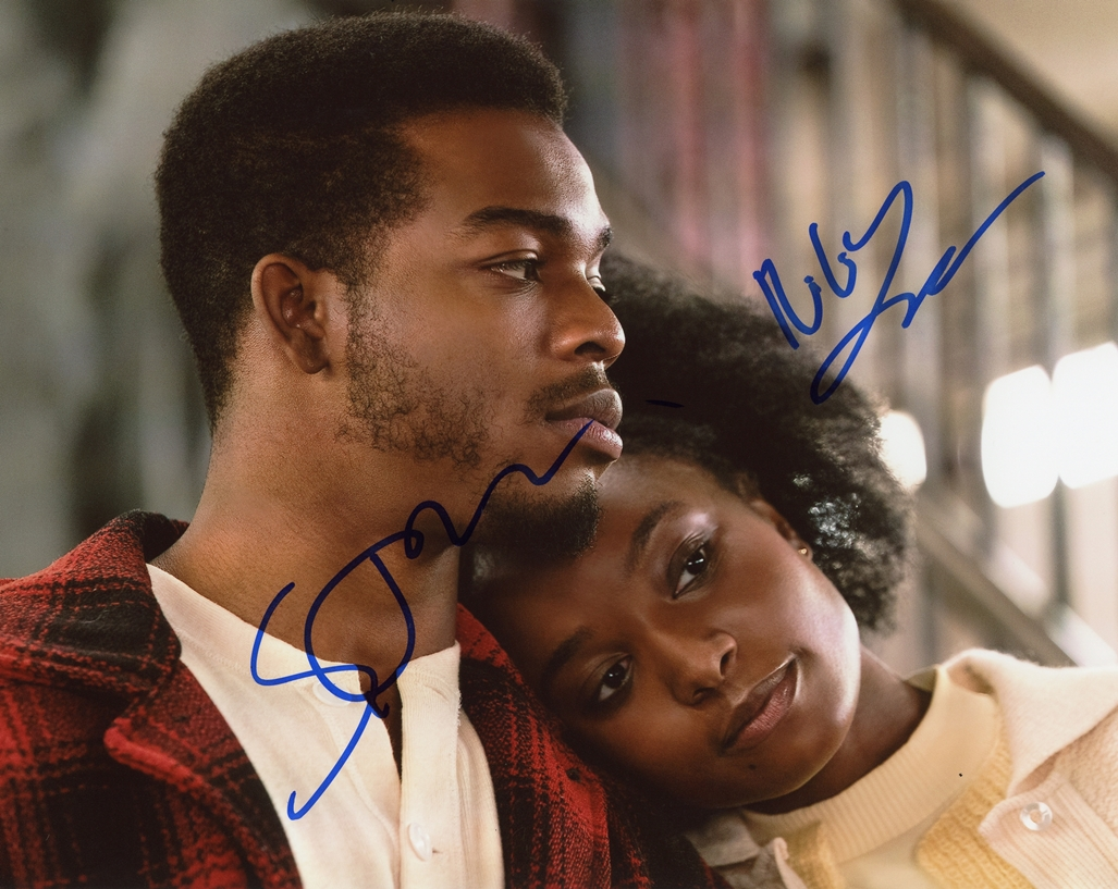 Stephan James & KiKi Layne Signed Photo
