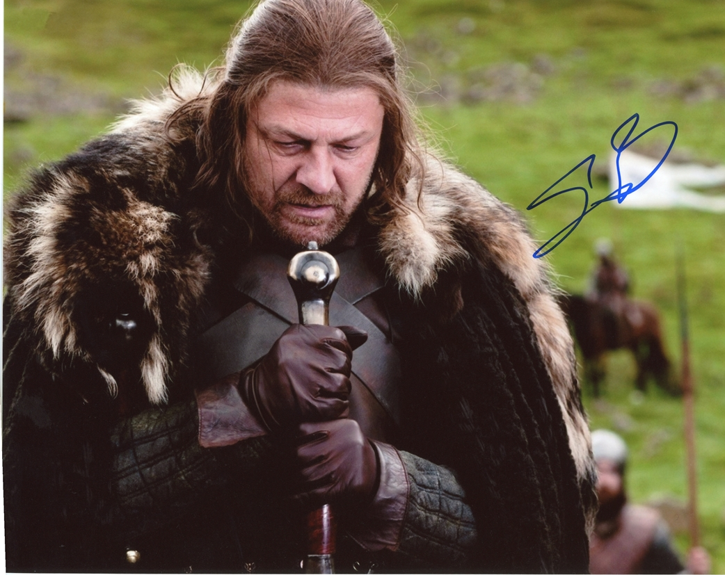 Sean Bean Signed Photo