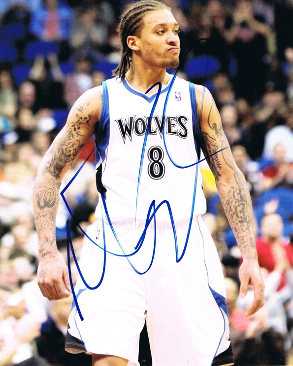 Michael Beasley Signed Photo