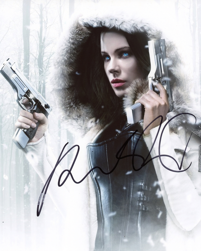Kate Beckinsale Signed Photo