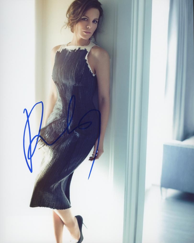 Kate Beckinsale Signed Photo
