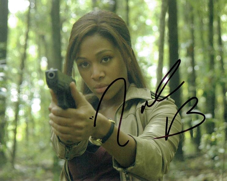 Nicole Beharie Signed Photo