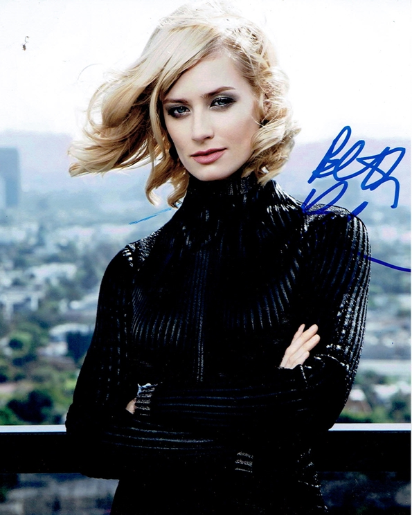 Beth Behrs Signed Photo