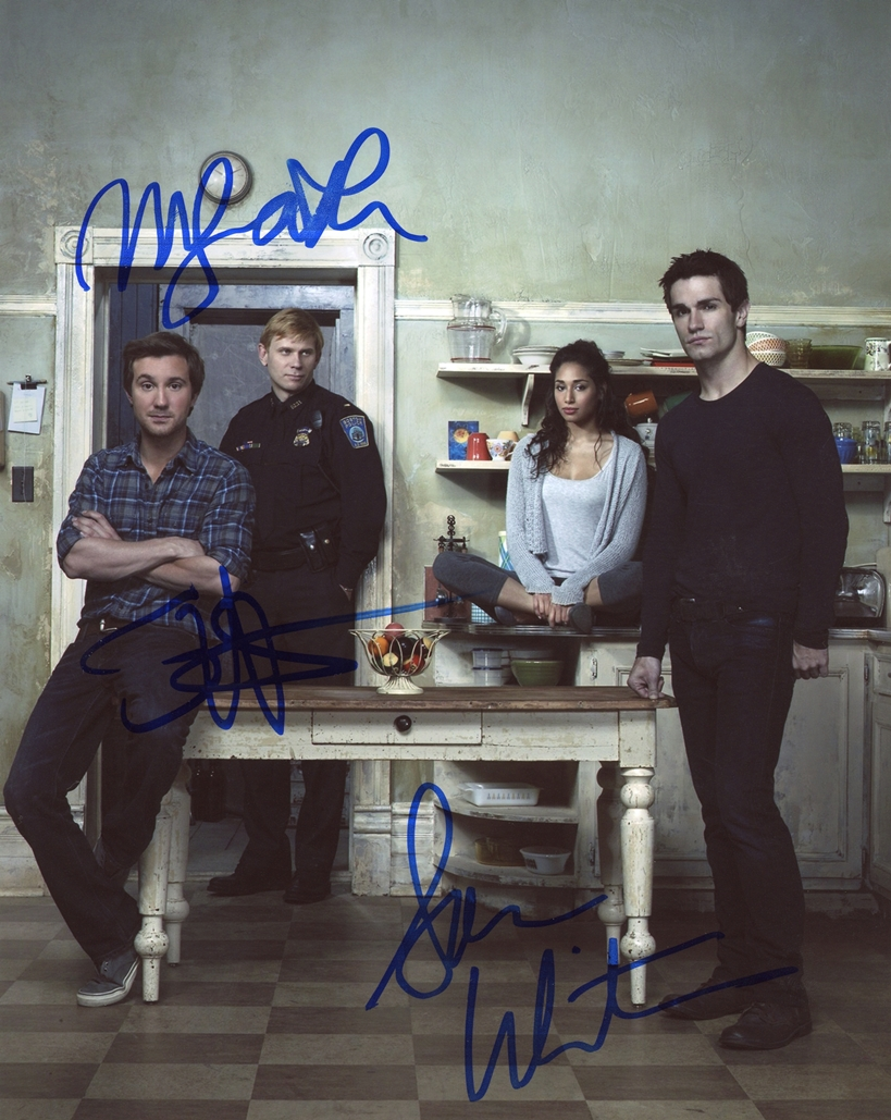 Being Human Signed Photo