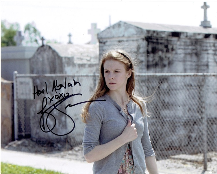 Ashley Bell Signed Photo