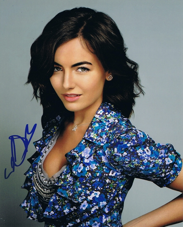 Camilla Belle Signed Photo