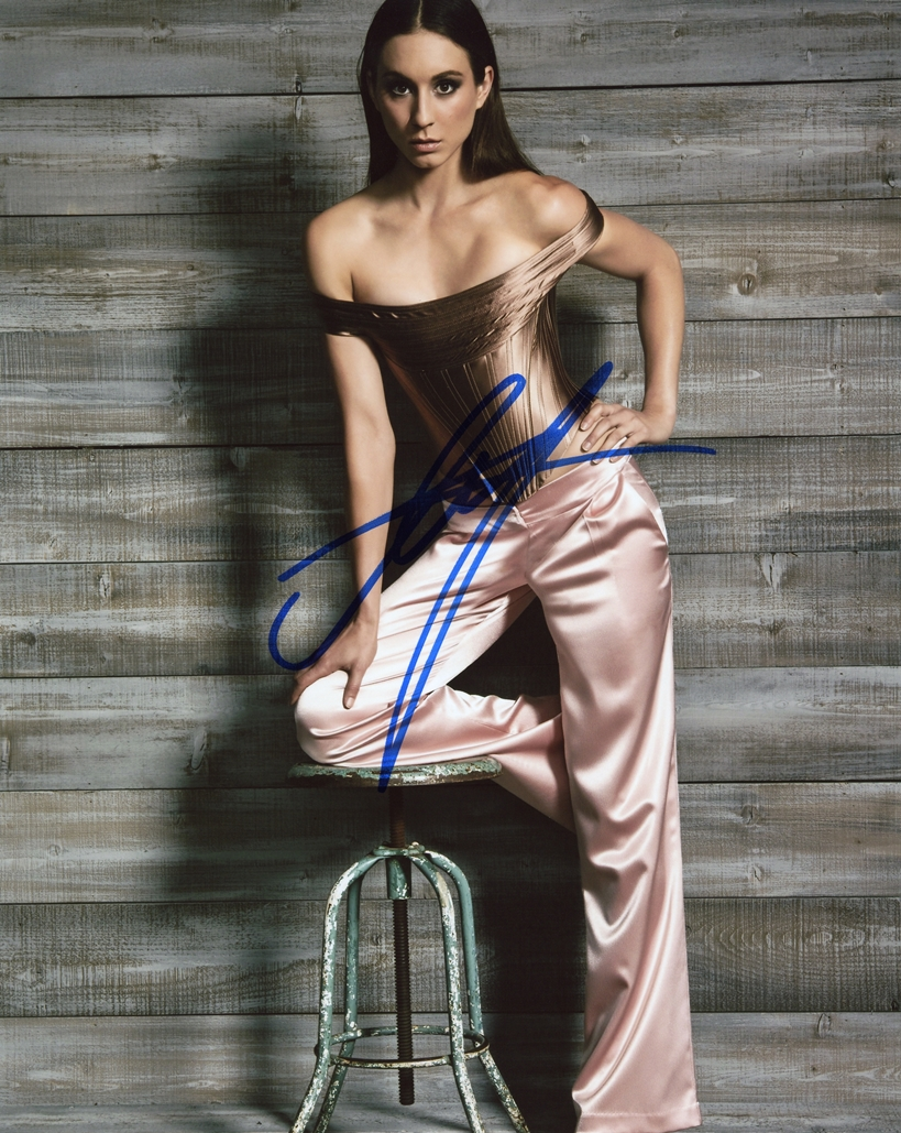 Troian Bellisario Signed Photo