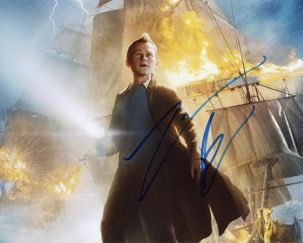 Jamie Bell Signed Photo