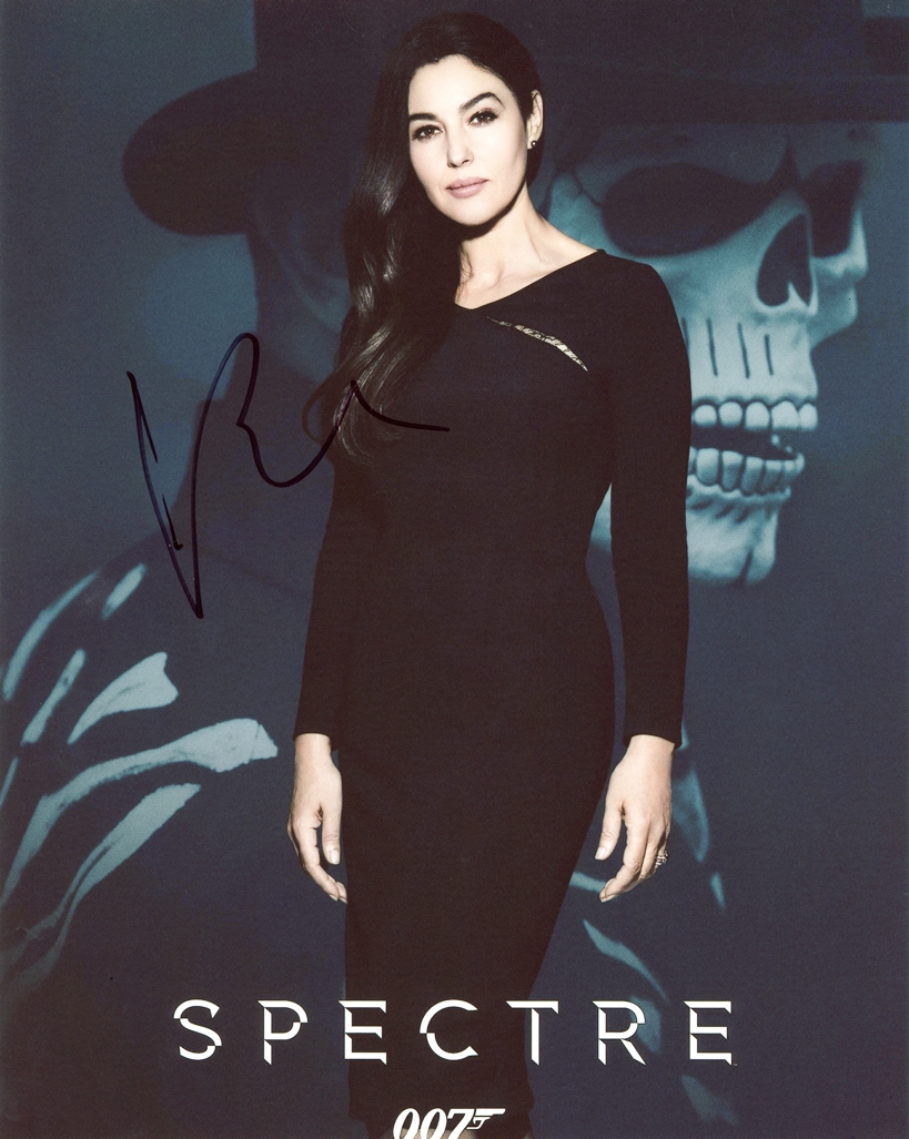Monica Bellucci Signed Photo