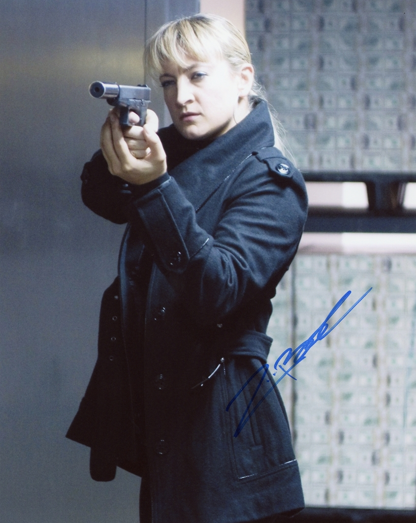 Zoe Bell Signed Photo