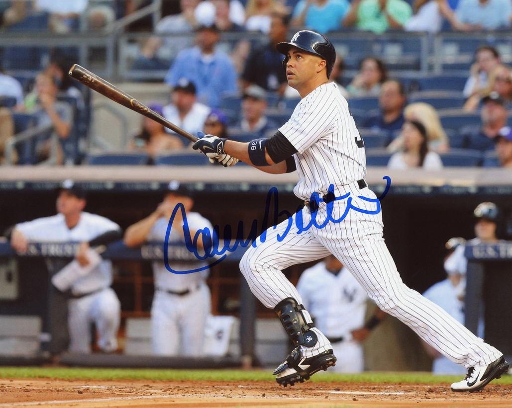 Carlos Beltran Signed Photo