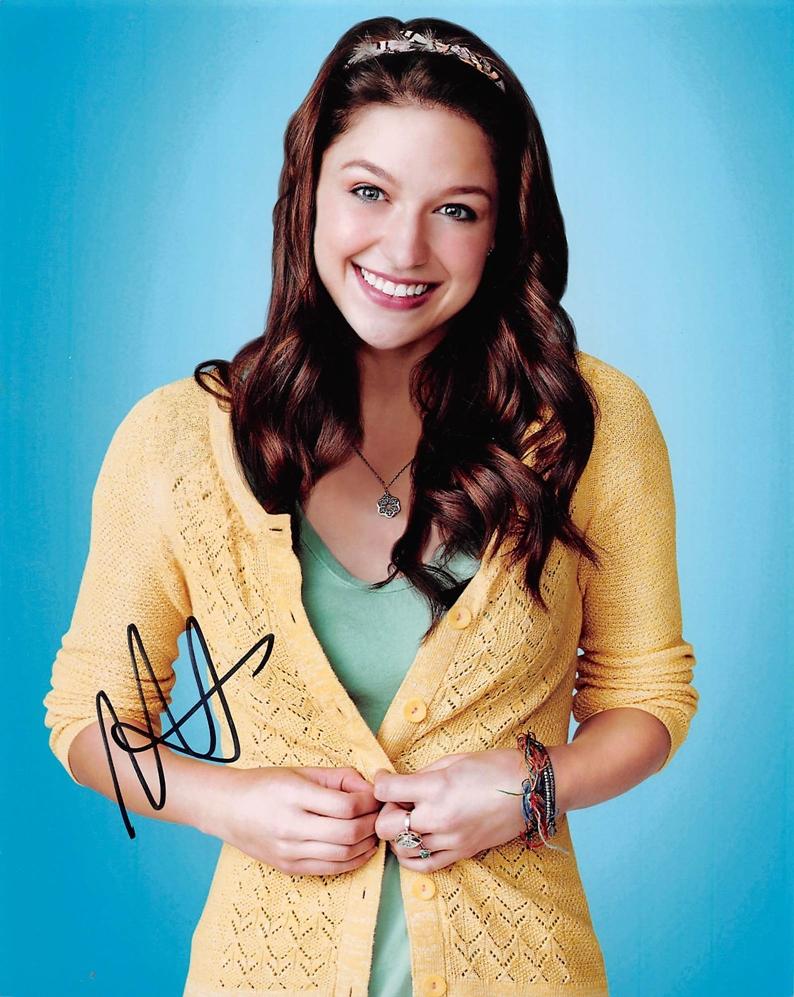 Melissa Benoist Signed Photo