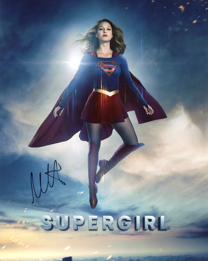 Melissa Benoist Signed Photo
