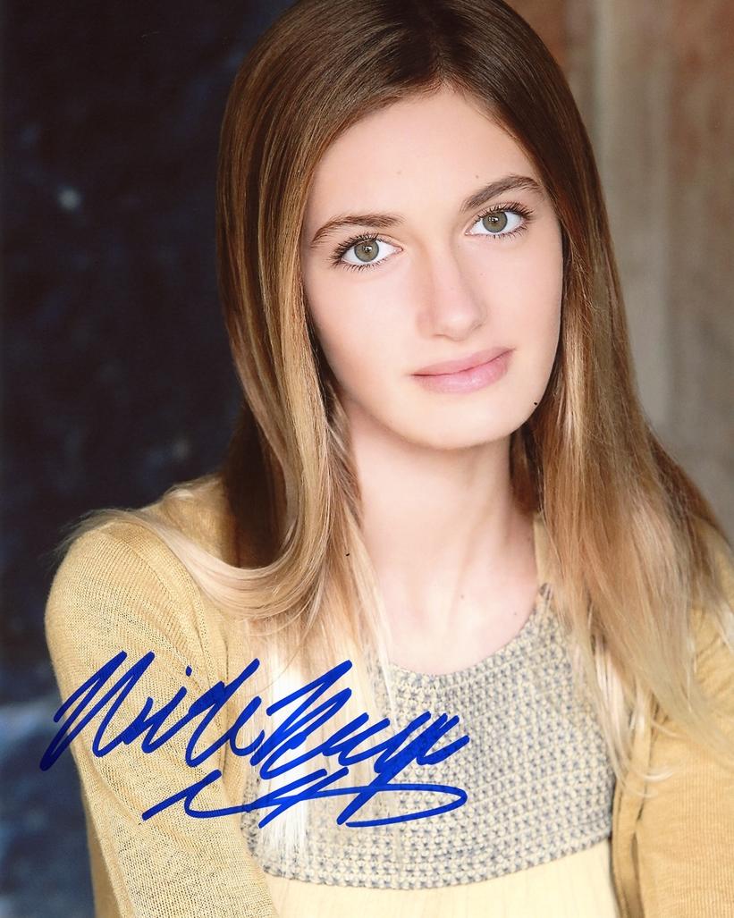 Nicole Elizabeth Berger Signed Photo