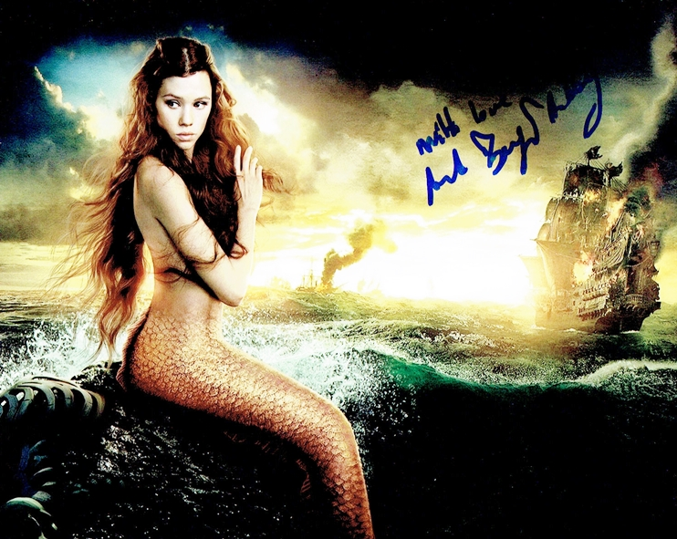 Astrid Berges-Frisbey Signed Photo
