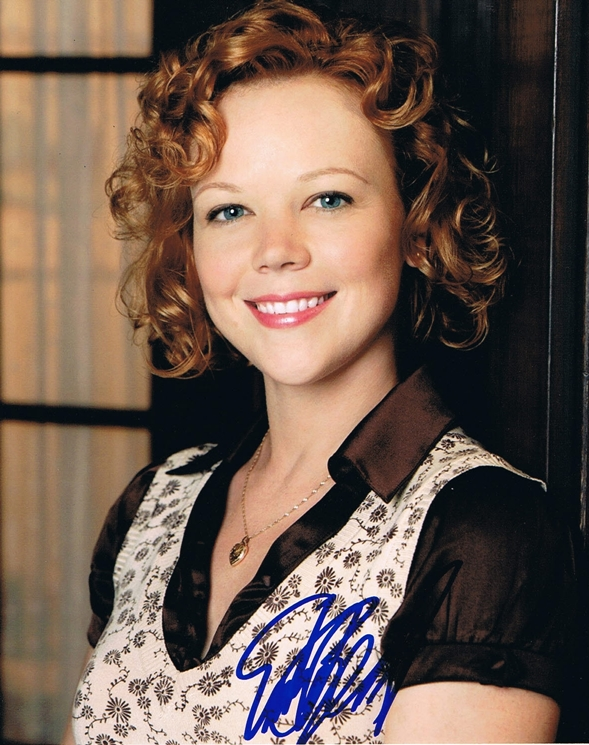 Emily Bergl Signed Photo
