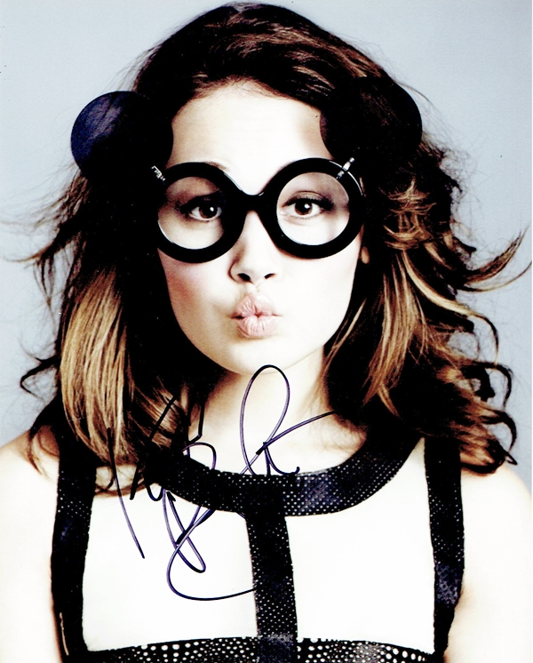 Kelli Berglund Signed Photo