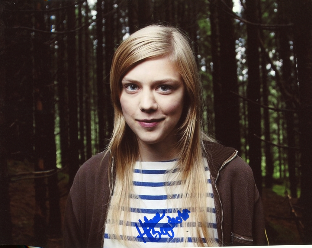 Helene Bergsholm Signed Photo