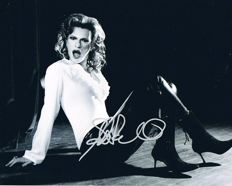 Sandra Bernhard Signed Photo