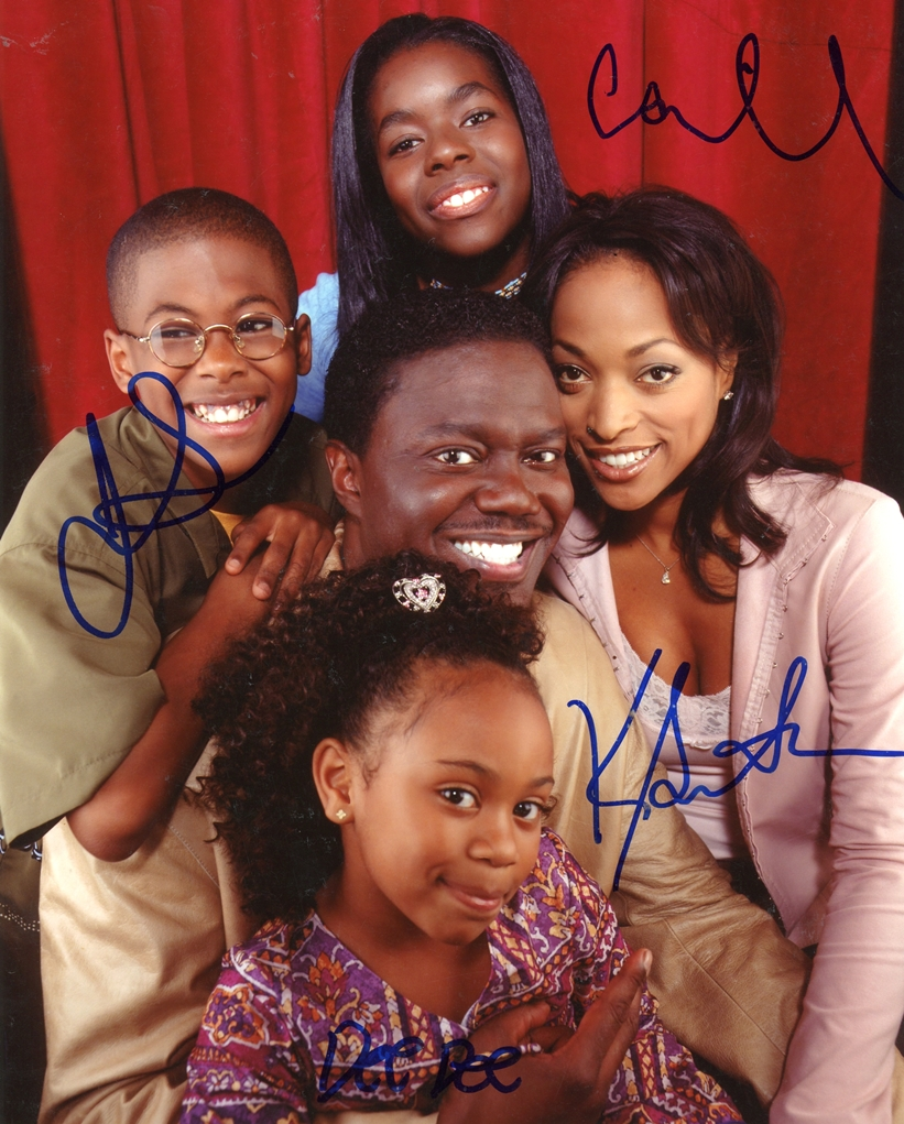 Bernie Mac Show Signed Photo
