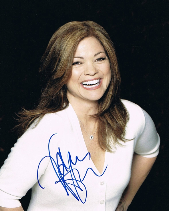 Gorgeous Autograph Signed 8x10 Photo: Pin Valerie Bertinelli Gorgeous Autograph Signed 8x10