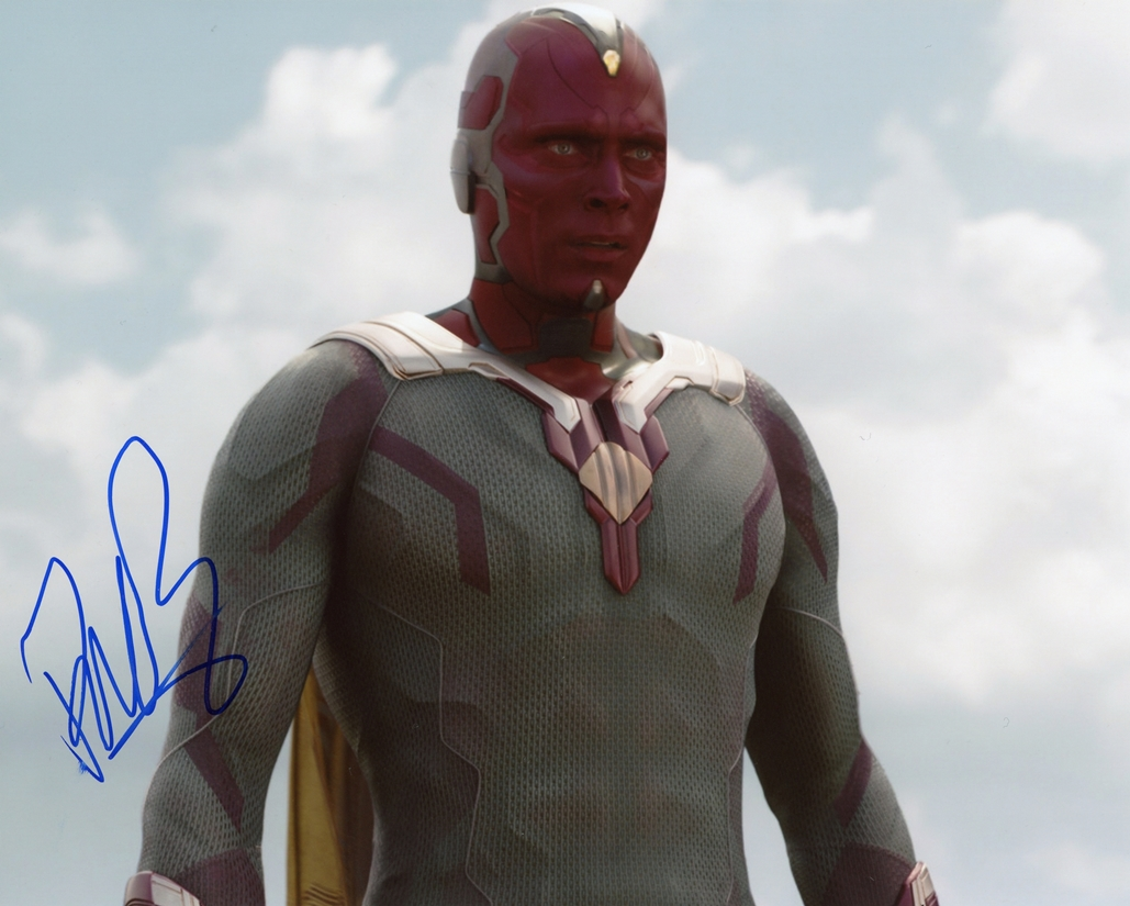 Paul Bettany Signed Photo