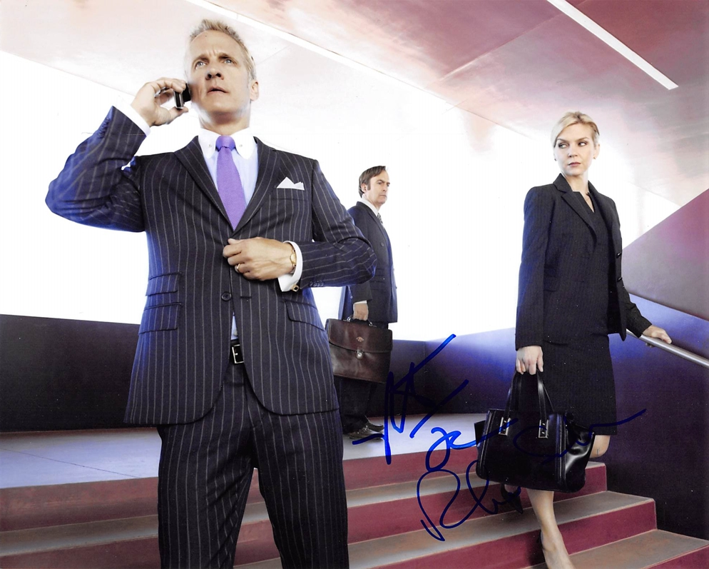 Patrick Fabian & Rhea Seehorn Signed Photo