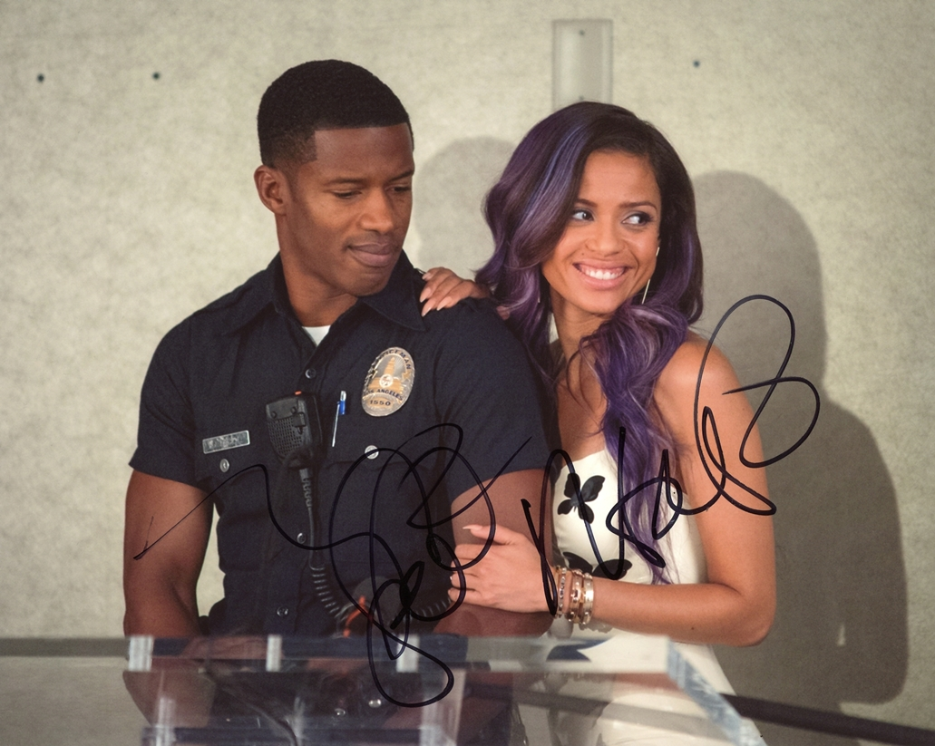 Gugu Mbatha-Raw & Nate Parker Signed Photo