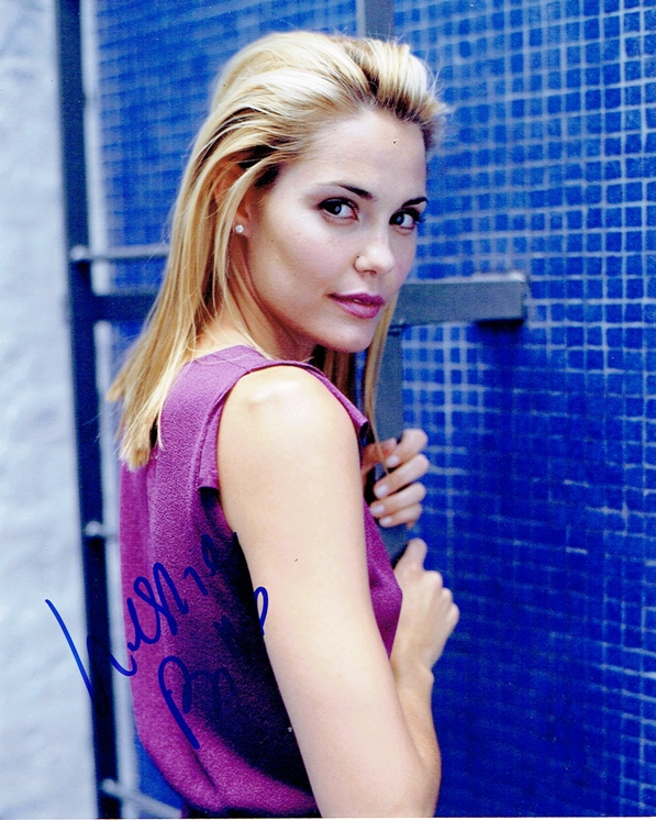 Leslie Bibb Signed Photo