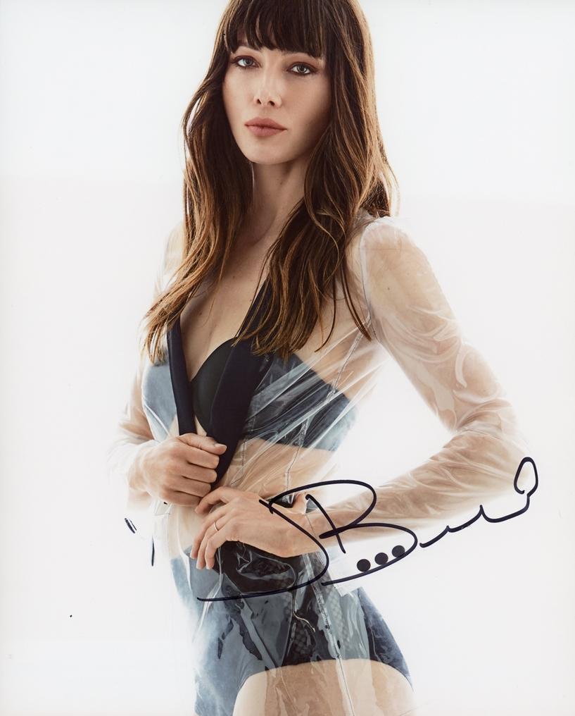 Jessica Biel Signed Photo