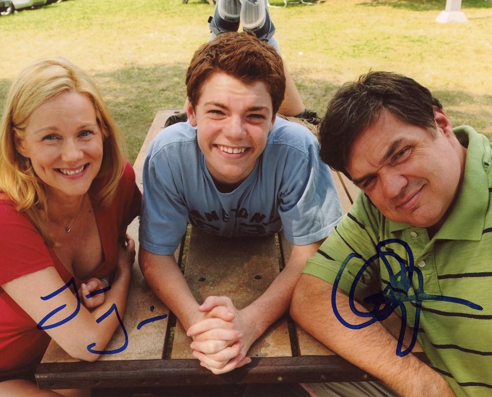 Laura Linney & Oliver Platt Signed Photo