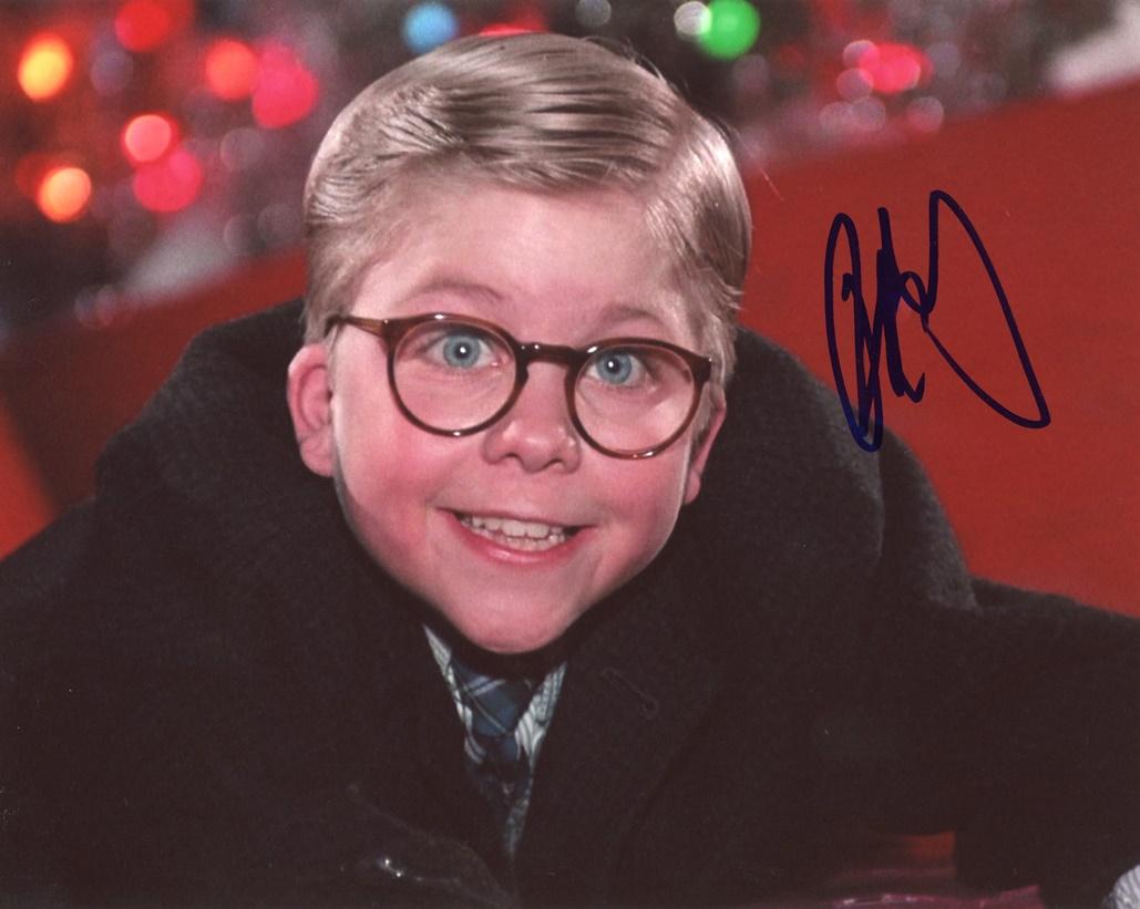 Peter Billingsley Signed Photo