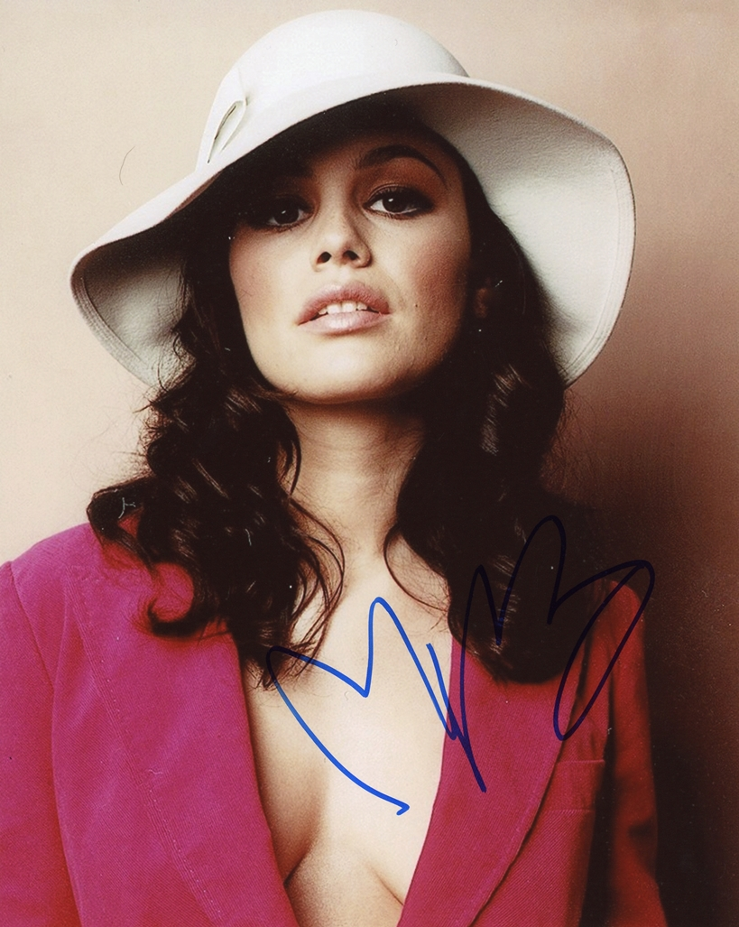 Rachel Bilson Signed Photo