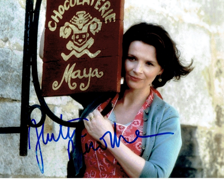 Juliette Binoche Signed Photo