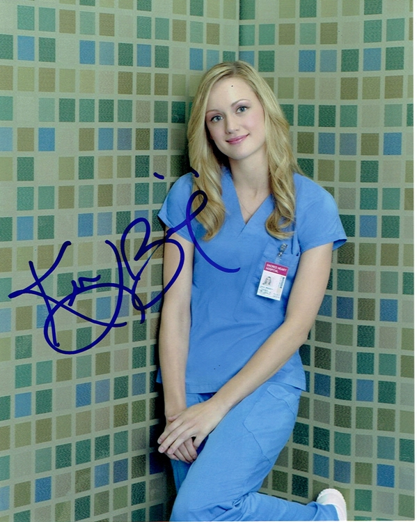 Kerry Bishe Signed Photo