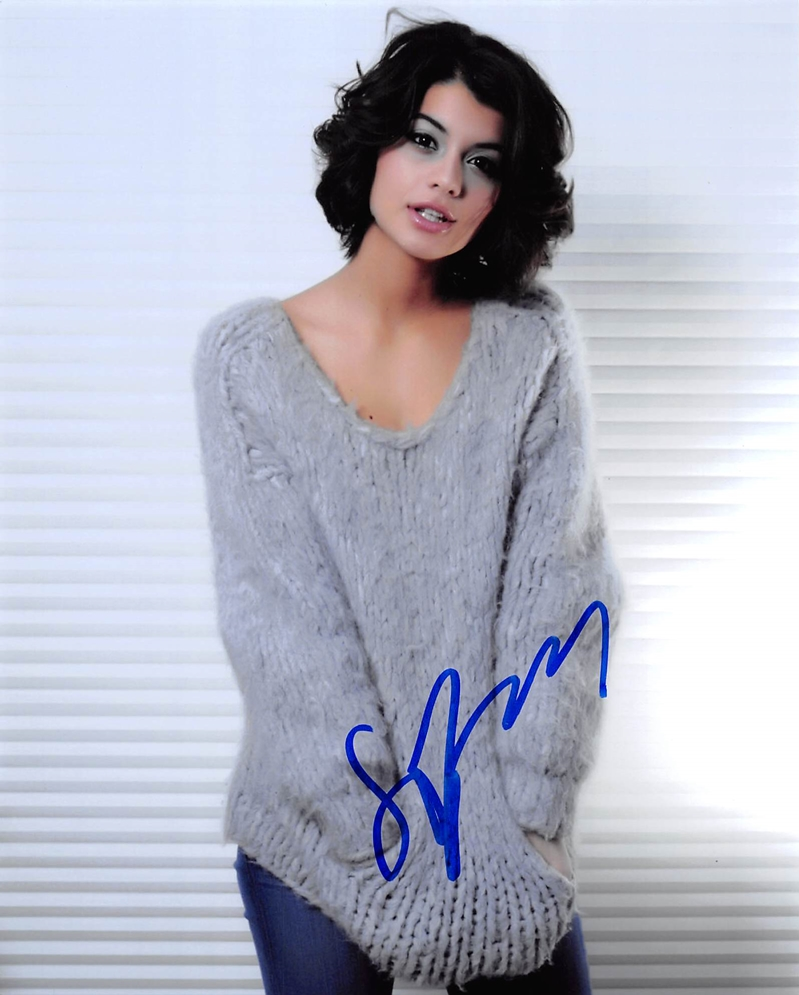 Sofia Black-D'Elia Signed Photo