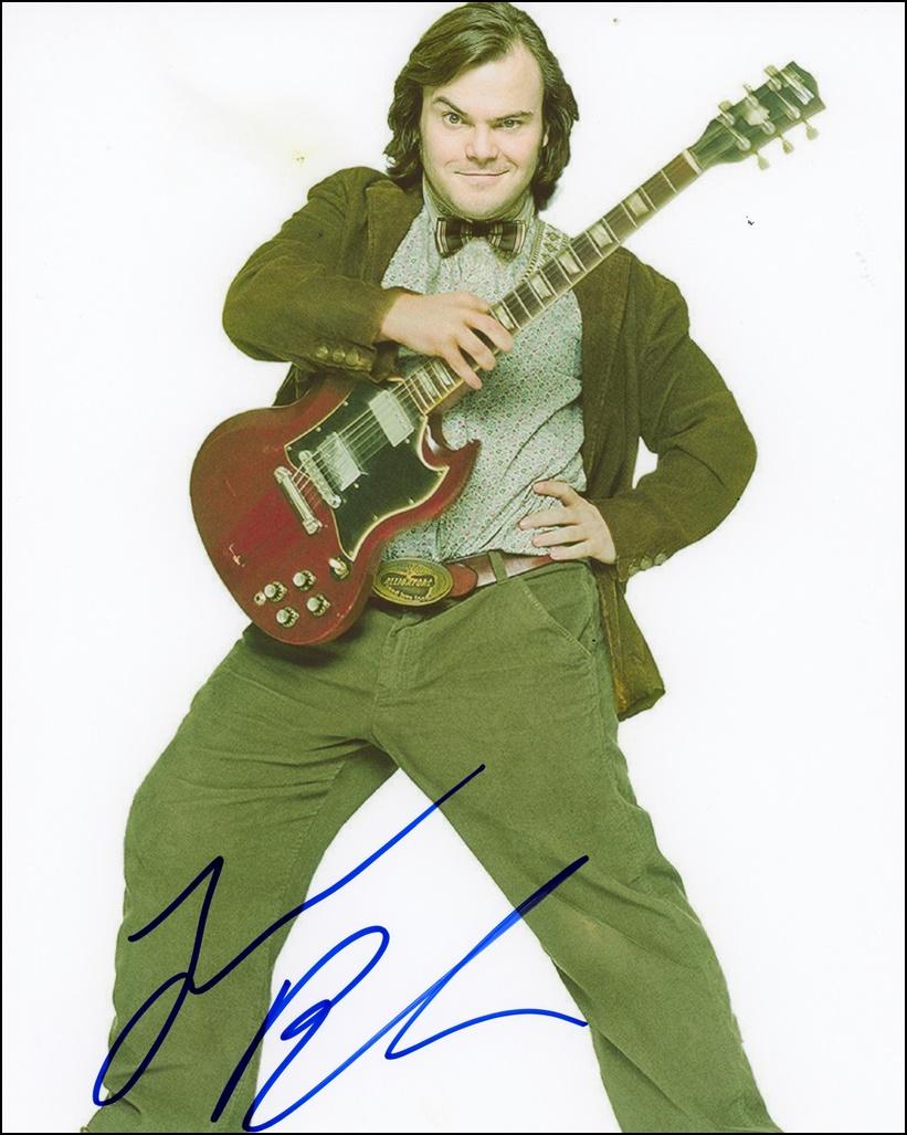 Jack Black Signed Photo