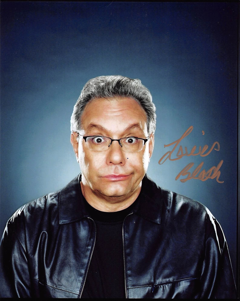 Lewis Black Signed Photo