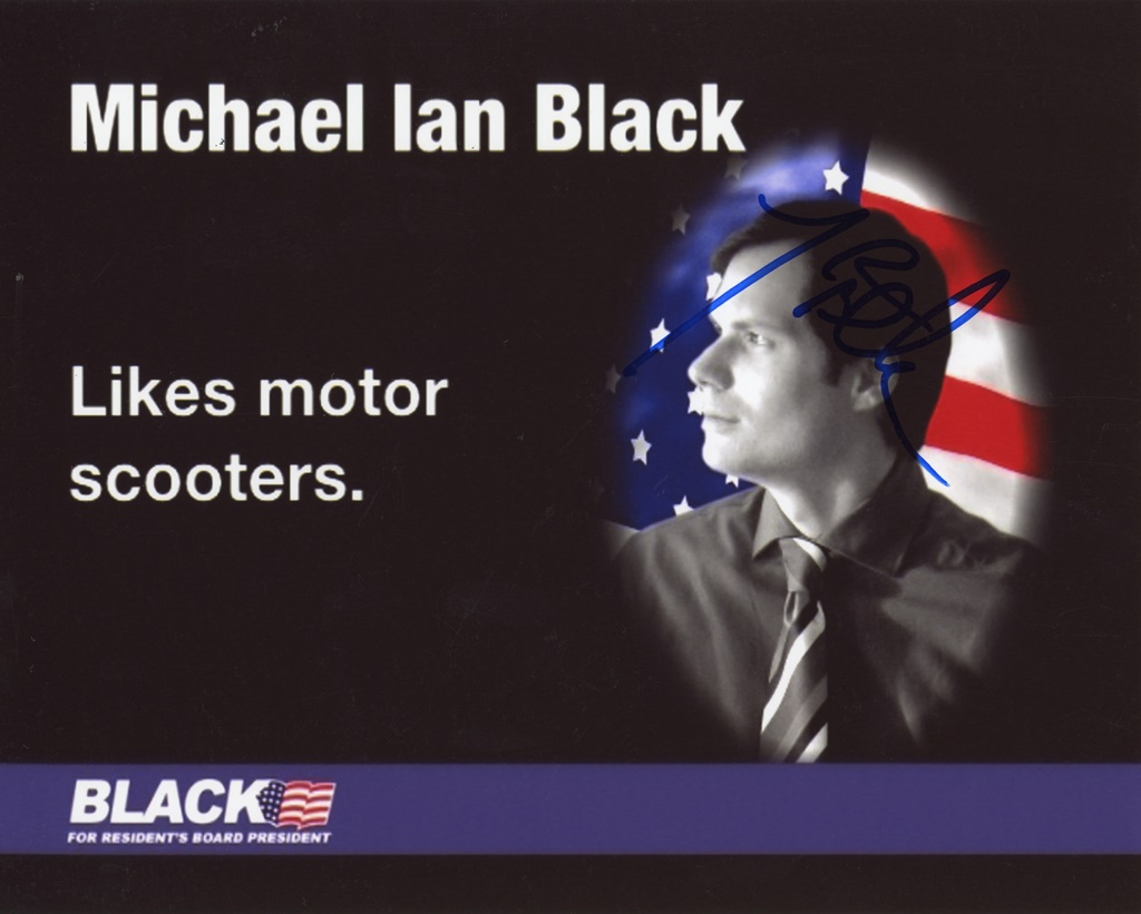 Michael Ian Black Signed Photo