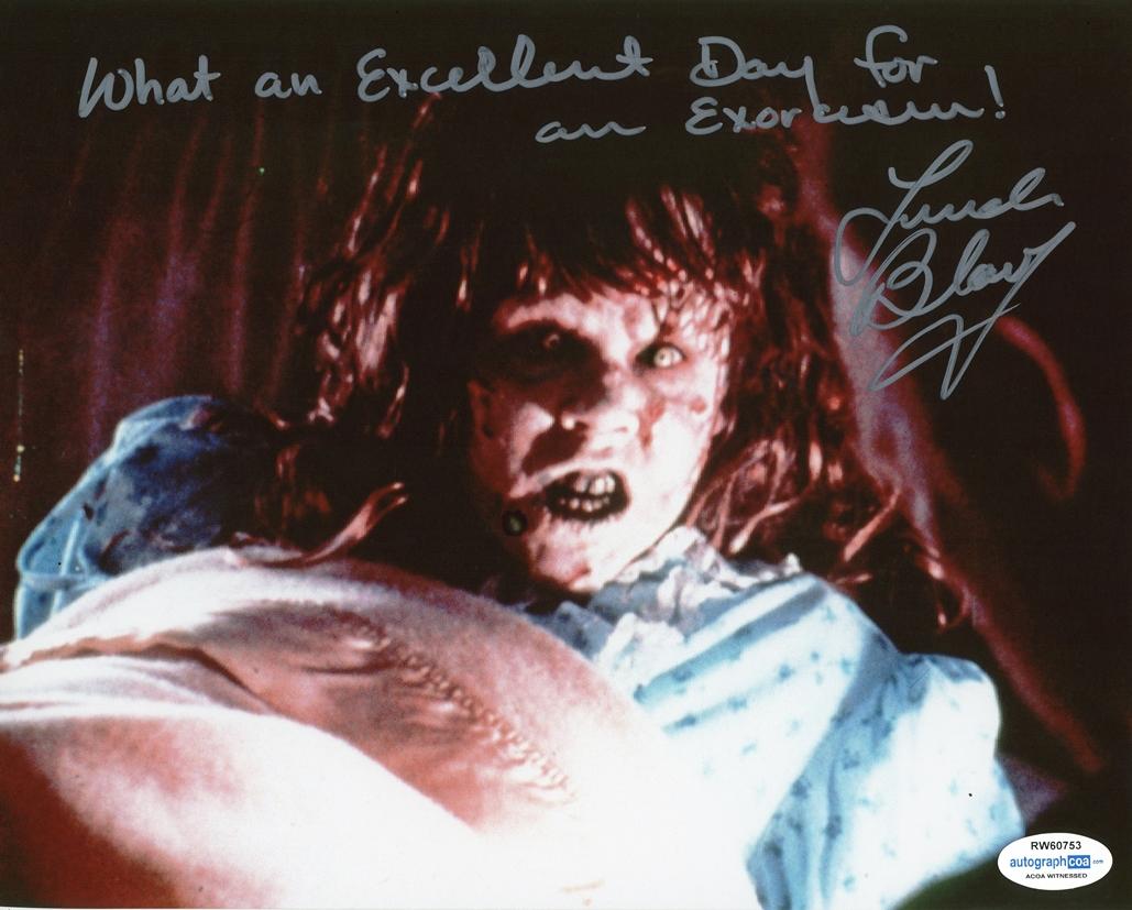 Linda Blair Signed Photo